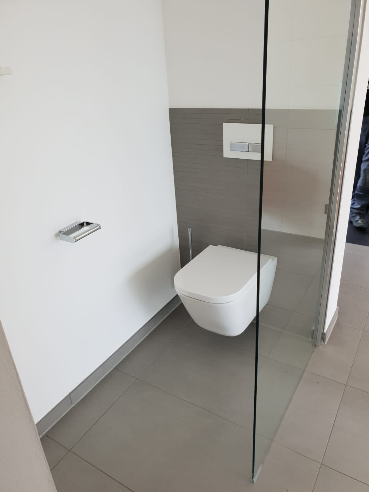 Modernes WC